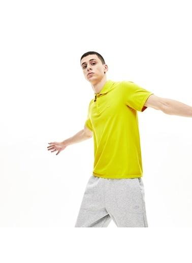 Lacoste Erkek Motion Tişört PH0982.J5D Sarı
